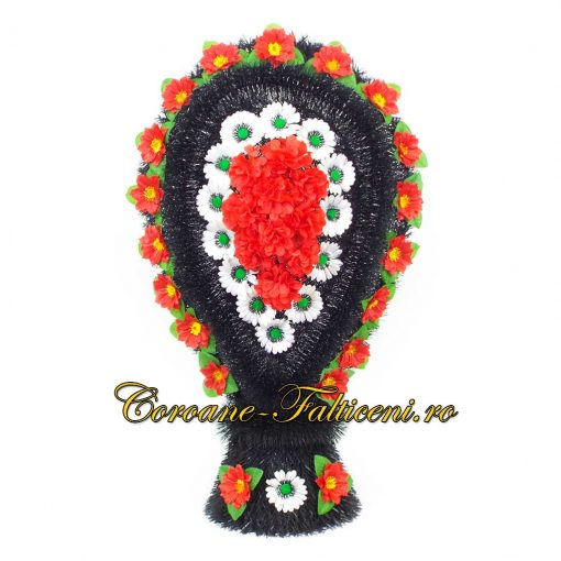 Coroane artificiale Falticeni Cos intors cu flori